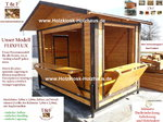 Faltbare Markthütte Verkaufshütte Modell FlixFlux Markthüttenvermietung