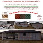 Kombination von Gartenpavillon, Gartenhaus und überdachter Sitzecke - unser Modell BELLEVUE