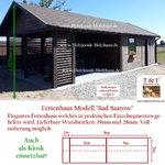 Kombination von Gartenpavillon, Gartenhaus und überdachter Sitzecke - unser Modell BELLEVUE - auch als Kiosk einsetzbar!