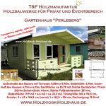 Gartenhaus Werkzeughaus Holzschuppen Bungalow Holzhaus mit Terrasse Modell Perleberg