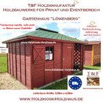 Gartenhaus Werkzeughaus Holzschuppen Bungalow Holzhaus Modell Oranienburg