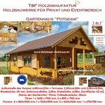 Gartenhaus Werkzeughaus Holzschuppen Bungalow Holzhaus Modell Potsdam