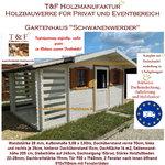 Gartenhaus Werkzeughaus Holzschuppen Bungalow Holzhaus Modell Schwanenwerder