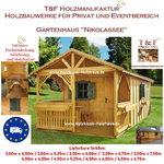 Gartenhaus Werkzeughaus Holzschuppen Bungalow Holzhaus mit Terrasse Modell Nikolassee